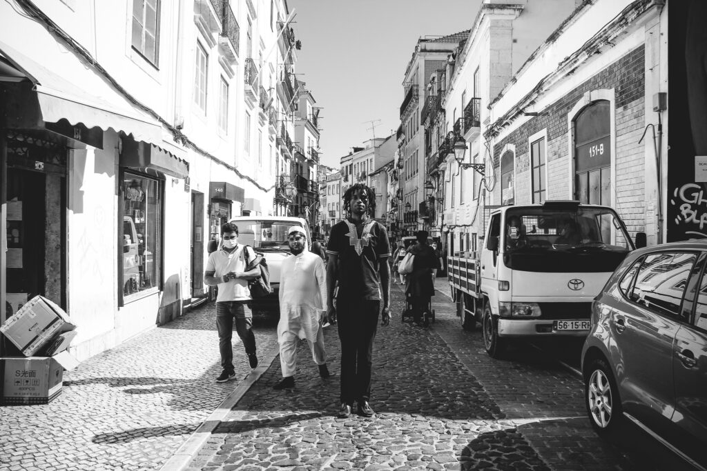 I AM YOU just another citizen of the world walking in Lisbon.